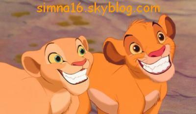 Nala et Simba