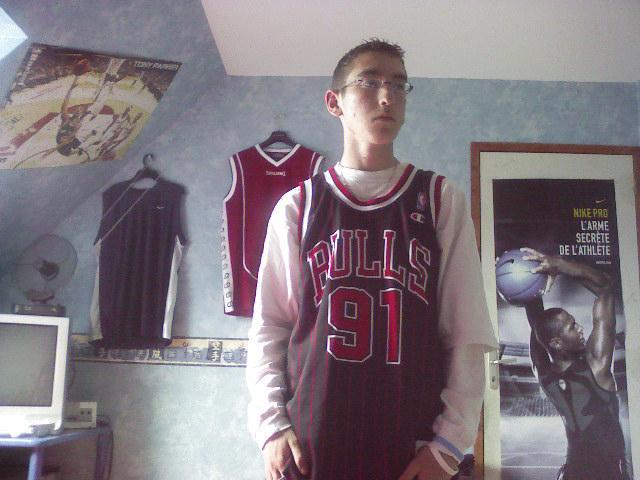 basket,rap américain,mé potes é... moi!!