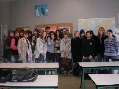 Una parte della classe francese che vi aspetta a braccia aperte !