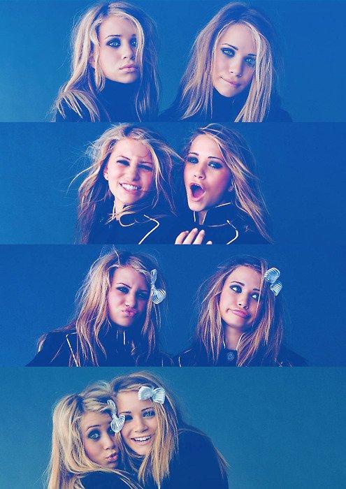 -Tu sais quoi Ashley ; les garçons vont et viennent,  mais nous deux ont restera toujours unies . Et ça c'est pas du cinéma !   -