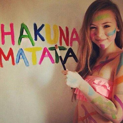 HAKUNA MATATA et vous? :D