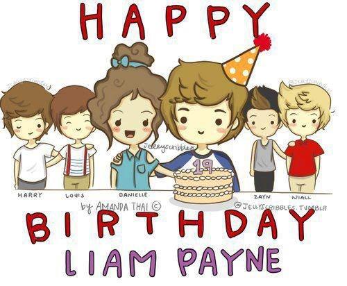 Joyeux Anniversaire Liam !!!! :) <3     29 août !!!! :)