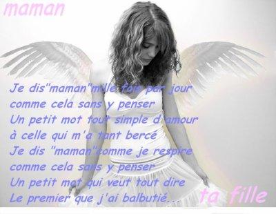 Jet'aiime Maman Tu Est Ma Raison De Vivre Ma PersOnnalité, Mon Oxigéne, Jet'aiime Jusqu'a Mon Dernière Souffle <3