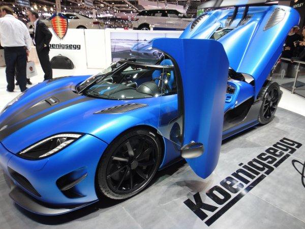 Koenigsegg Agera R - Salon de Genève pris par StSorlinAuto