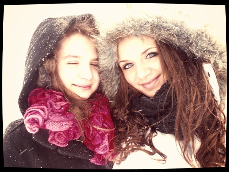 Petite après-midi sous la neige !