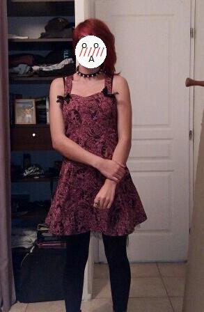 ma nouvelle petite robe *A*