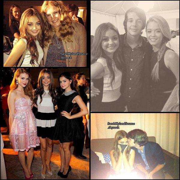 """Candid du 09/08/12  Hier soir, Sarah était présente à l'événement """"ELLE And Miss Me Party"""". J'adore sa robe c'est talons aussi maquillage discret jolie coiffure pour moi c'est un top et vous ?"""