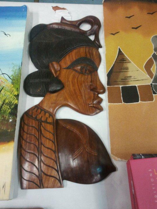 STATUE AFRICAINES DE CREATIONS SENEGALAISE