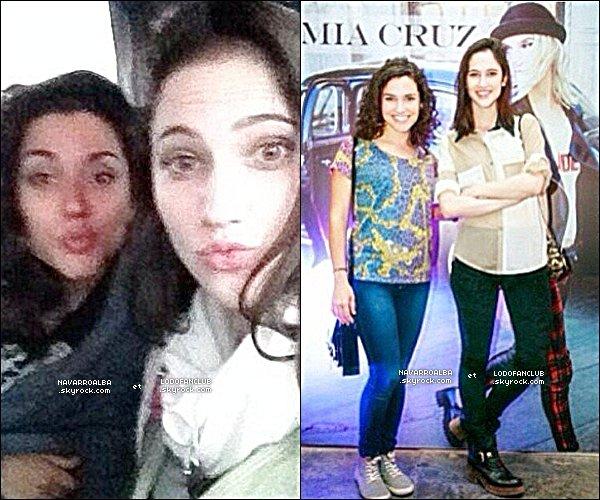 Deux Photos Personnelles d'Alba & Lodovica Postées Sur Instagram