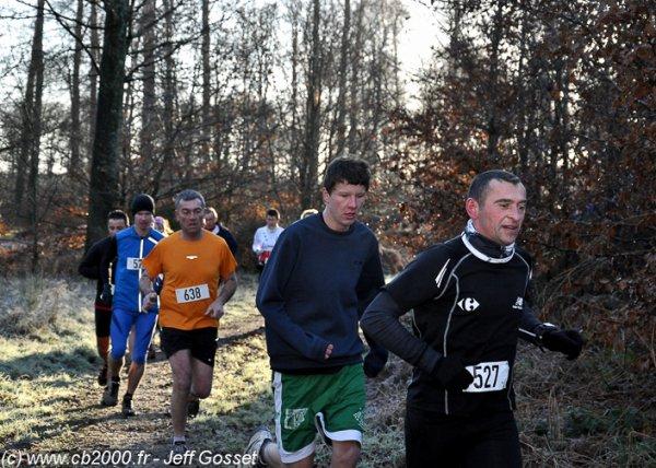 Course nature d'Eawy contre le Cancer du sein Les Ventes St Rémy(76) le 2/12/2012