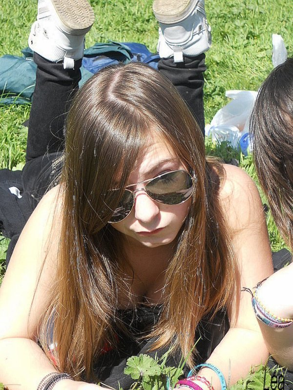 Moi en italie :) ♥