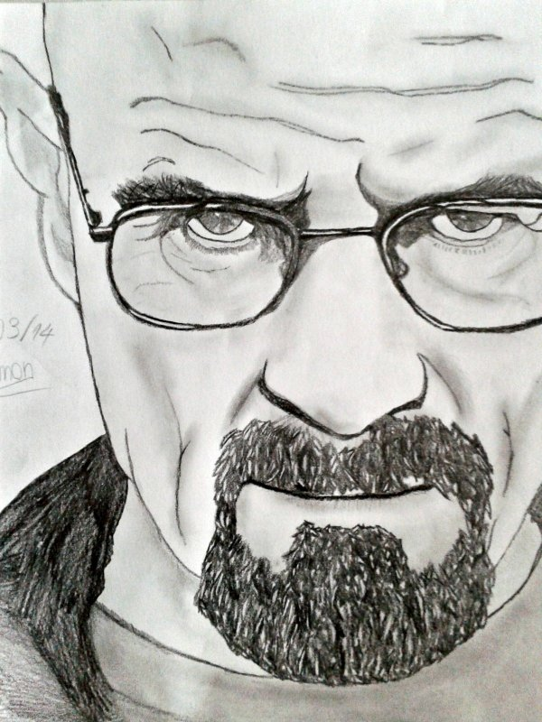 #5 - Bryan Cranston | Breaking Bad - W. White / Heisenberg