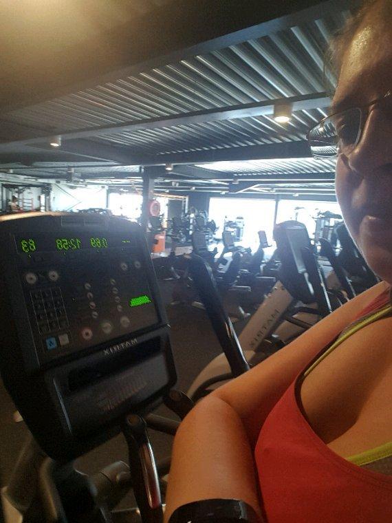 Au fitness aujourd'hui