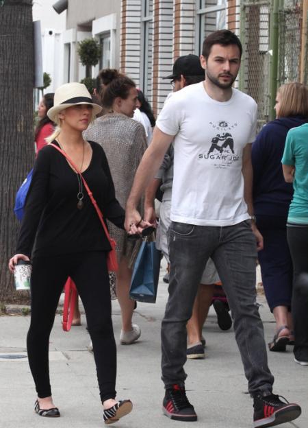 Christina Aguilera & Matt Rutler : ça roule pour eux