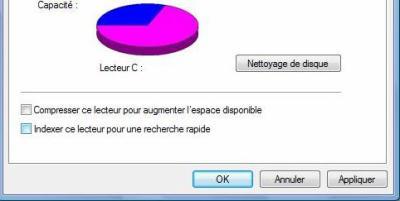 Astuce Windows 7, Vista  Désactiver l'indexation dans Windows Vista