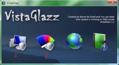 Astuce Windows Vista Activer les styles visuels avec Vista Glazz dans Windows Vista