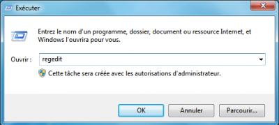 Astuce Windows 7  Liste des commandes Exécuter... sur Windows 7