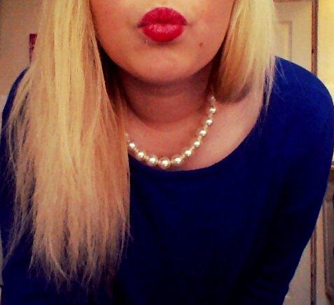 Mon rouge à lèvre du moment