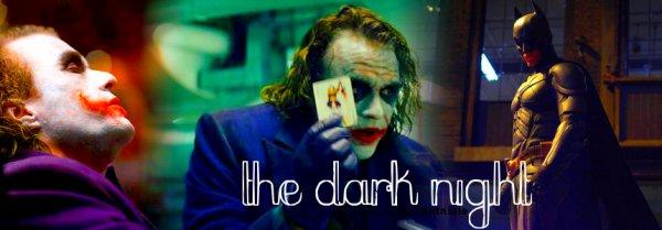 1 . THE DARK NIGHT