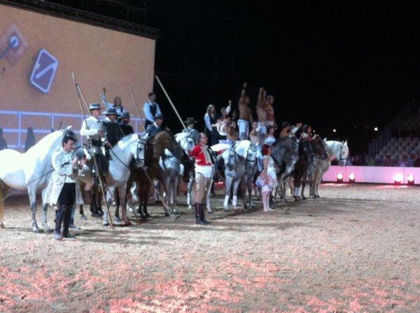 Final d'équestria ! C'était génial le spectacle !