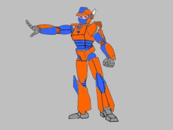 Mon ancien mode Robot