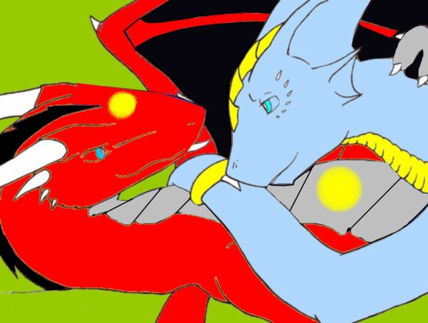 Moi et ma Dragonne