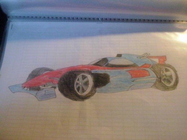 Voiture de Formule Un