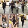 Jessica a été vu à l'épicerie avant de prendre sa fille à M. Bones Pumpkin Patch à West Hollywood le 13 Octobre.
