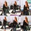 Jessica a été vu arrivant à son bureau à Santa Monica sur 17 Janvier .