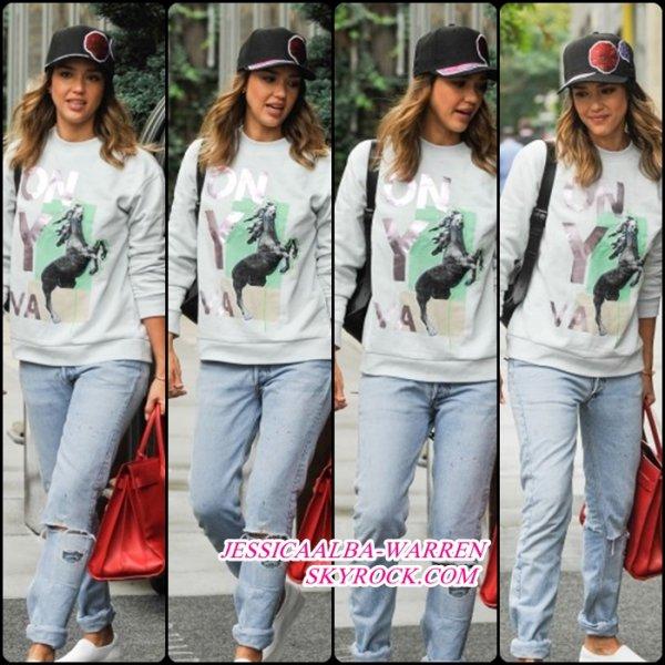16 septembre - Jessica Alba dans un hôtel à New York