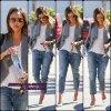 23.09.14 : Jess' Alba a été photographiée alors qu'elle allait faire des courses dans les rues de Santa Monica.