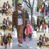 31/01/2015 : La famille Warren se rendant au Whole Foods à Beverly Hills.