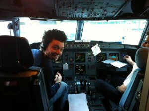 Si j'étais pilote davion... ou musicien^^