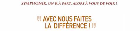 """Arlette Gruss > """"Avec nous faites la différence"""""""