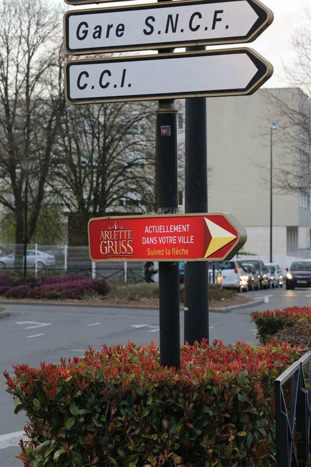 Arlette Gruss > Vus sur la cathédrale