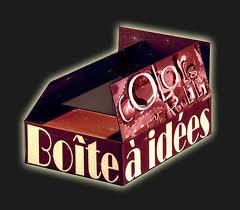 Ma boîte à idées