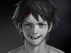Luffy ♡♡♡ (dessin style réaliste)