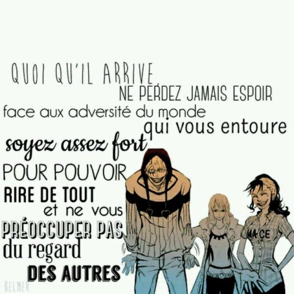 Citation de One Piece (Belmer)