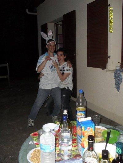 Moi et ma poule :)
