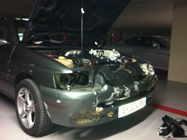 Restauration pc avant