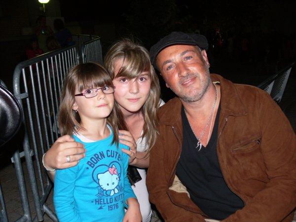 david Sarfati dans une famille formidable avec mes deux niéces.