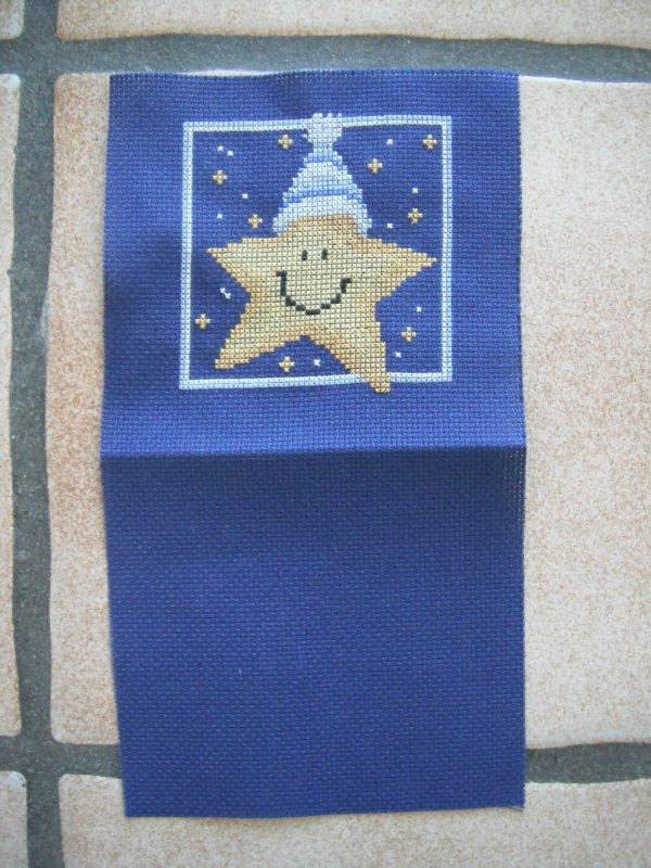 une étoile de noël.
