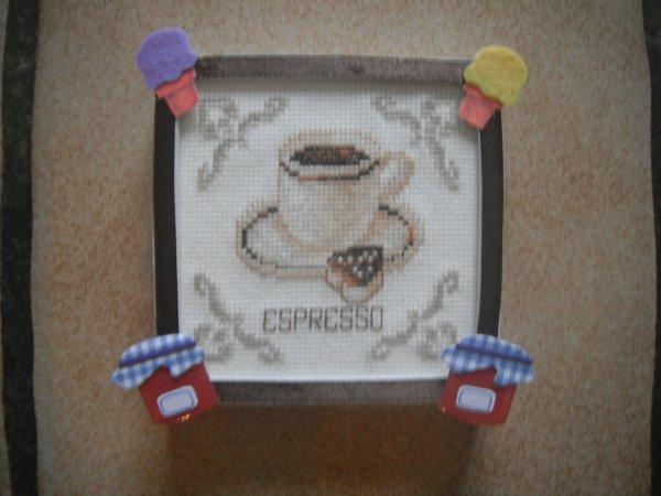 mon espresso est fini.