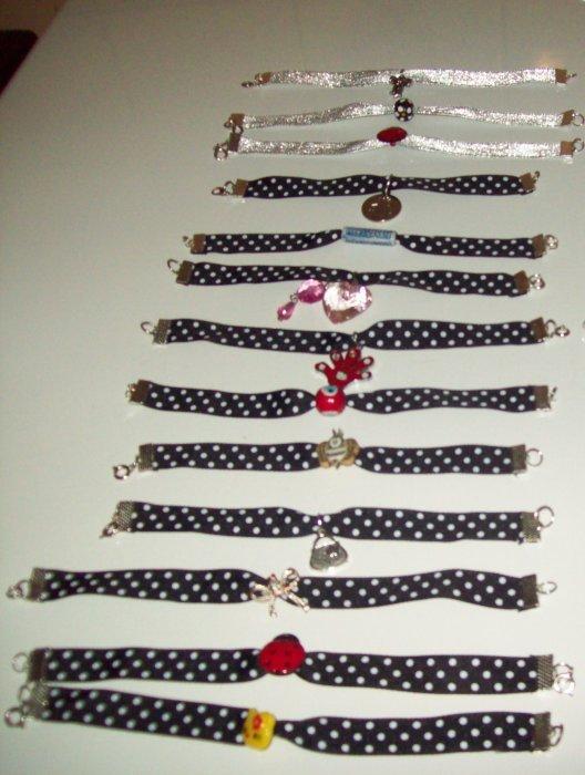 bracelet à ruban.