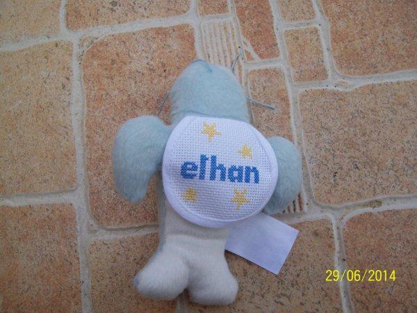 un doudou pour Ethan .