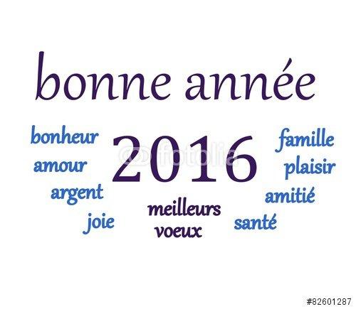 bonne année 2016.