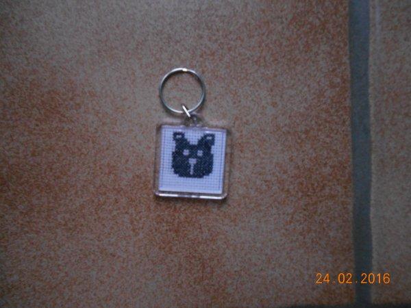 un autre porte clé de chien.
