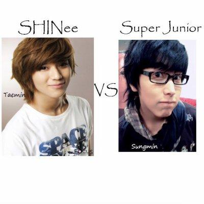 Troisieme VS : Taemin / Sungmin