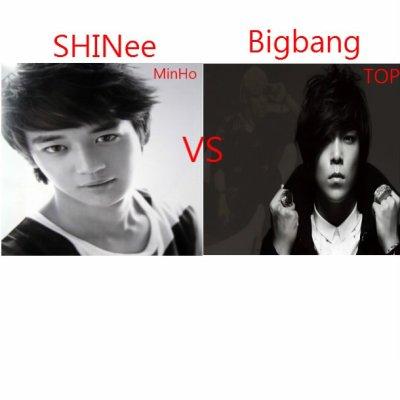 MinHo VS TOP