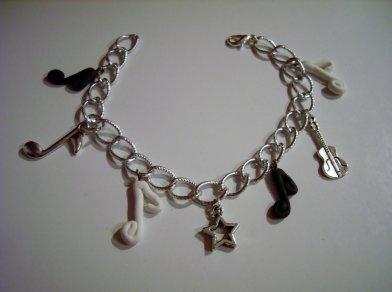 bracelet thème musique